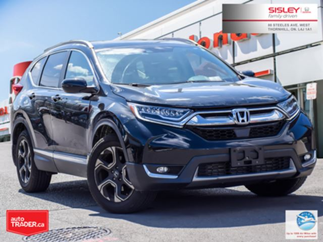 2017 HONDA CR-V Touring   AWD   1-OWNER   NO ACCIDENTS   LOW KMS in Thornhill, Ontario