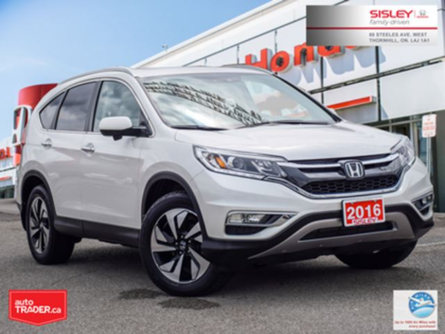 2016 HONDA CR-V Touring   AWD   1-OWNER   NO ACCIDENTS   LOW KMS in Thornhill, Ontario