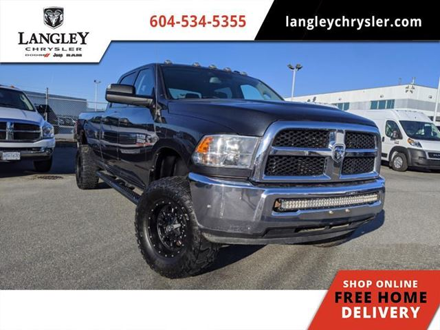 2014 Dodge RAM 3500 ST  Rare Manual Transmission / Massive torque / Quiet highway ride in Surrey, British Columbia