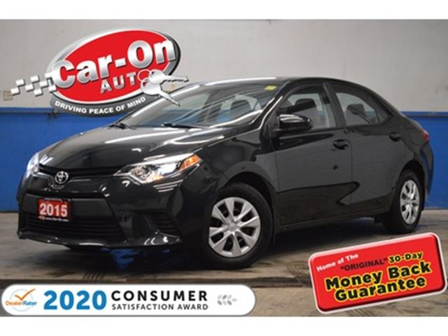 2015 Toyota Corolla A/C BLUETOOTH CRUISE ONLY 52,000 KM in