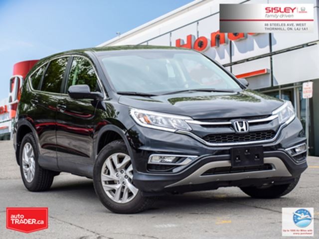 2015 Honda CR-V EX-L   AWD   NO ACCIDENTS   1-OWNER   LEATHER in