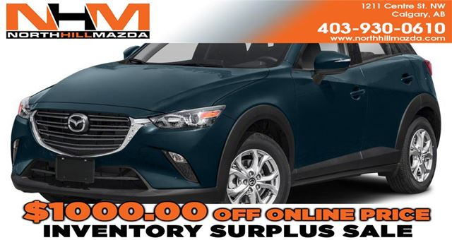2019 Mazda CX-3 GS in Calgary, Alberta