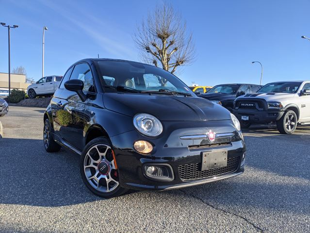 2013 FIAT 500 Sport  Manual / Leather / BT / Adorable styling in Surrey, British Columbia