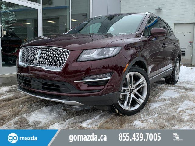 2019 LINCOLN MKC RESERVE - LEATHER, NAV, HEATED AND COOL SEATS, SUNROOF in Edmonton, Alberta