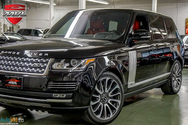 2017 LAND ROVER Range Rover 5.0L V8 Supercharged Autobiography LWB  AUTOBIO in Oakville, Ontario