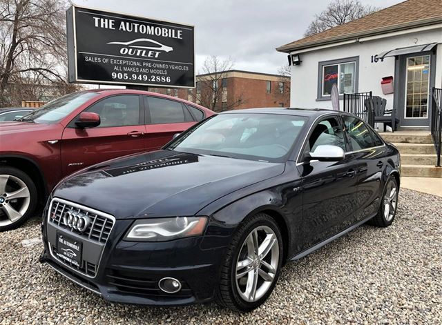 2010 AUDI S4 AWD CERTIFIED SUNROOF BLUETOOTH NO ACCIDENT in Mississauga, Ontario