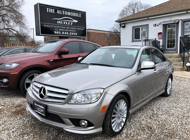 2009 MERCEDES-BENZ C-Class C230 2.5L CERTIFIED LOW KMS LEATHER BLUETOOTH in Mississauga, Ontario