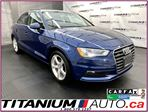 2016 Audi A3 Quattro 2.0T+Camera+Pano Sunroof+Heated Leather+XM in London, Ontario