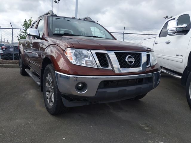 2016 NISSAN FRONTIER  Leather / Tonneau / Sunroof in Surrey, British Columbia