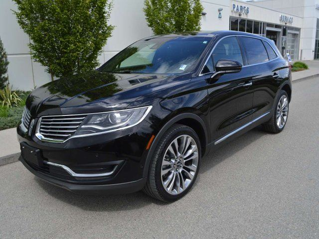 2018 Lincoln MKX Reserve- NAVIGATION, LEATHER HEATED + AIR COOLED SEATS, TWIN PANEL MOONROOF in