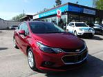 2018 Chevrolet Cruze LT Auto SUNROOF, HEATED SEATS, BACKUP CAM, SUPER LOW KM!! in North Bay, Ontario