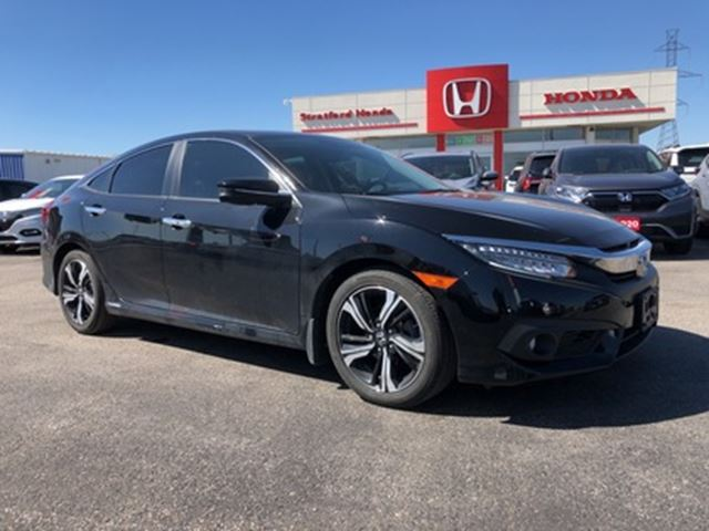 2017 Honda Civic 4dr CVT Touring in