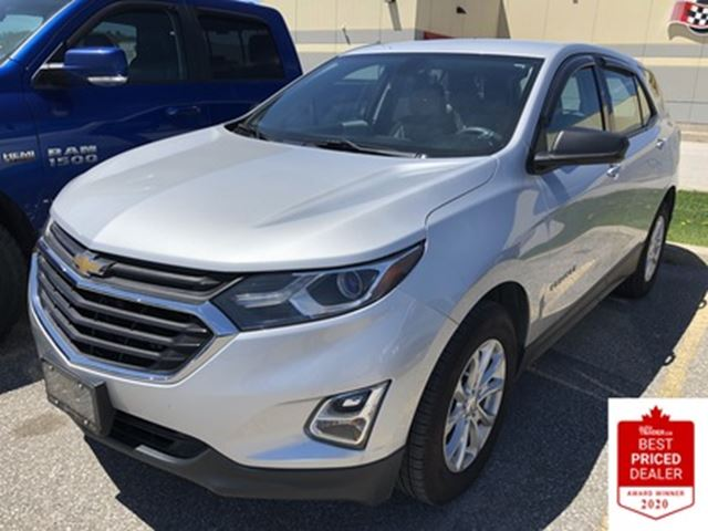 2018 Chevrolet Equinox FWD LS REMOTE START HEATED SEATS LOW LOW KMS in