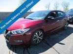 2018 Nissan Maxima SL, Leather, Navigation, Panoramic Sunroof, Intelligent Cruise, Blind Spot Monitor, Bose Audio! in Guelph, Ontario