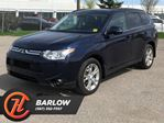 2014 Mitsubishi Outlander 4WD 4dr GT / Leather / Navi in Calgary, Alberta