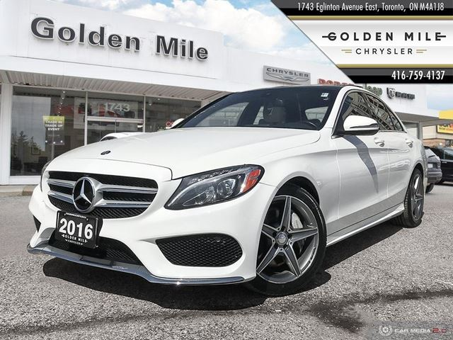 2016 MERCEDES-BENZ C-CLASS C300|LEATHER|PANO ROOF|NAVI|BACK UP CAM|HEATED SEATS in North York, Ontario