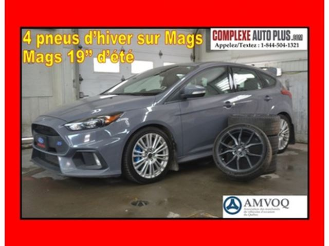 2017 FORD FOCUS RS AWD *WOW 350 HP!!! GPS,Recaro,Mags 19po in Saint-Jerome, Quebec