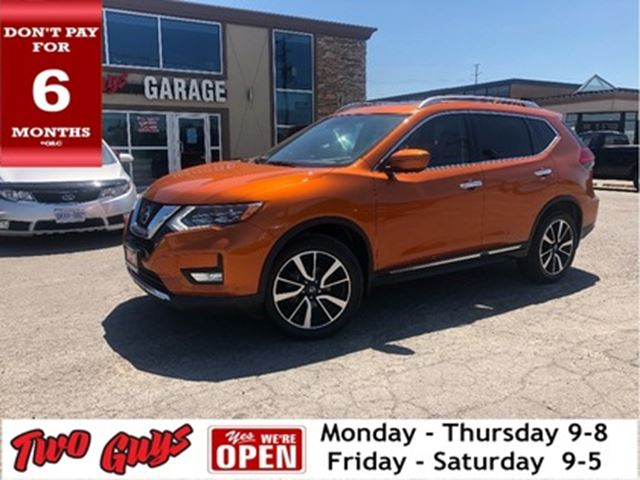 2017 NISSAN ROGUE SL   Nav   Panoroof   AWD   Htd Leather   Pwr Seat in St Catharines, Ontario