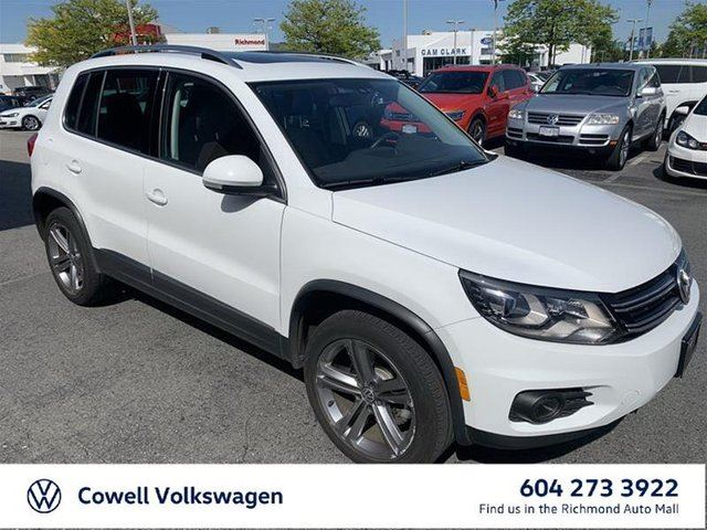 2017 VOLKSWAGEN TIGUAN Highline 2.0T 6sp at w/ Tip 4M in Richmond, British Columbia