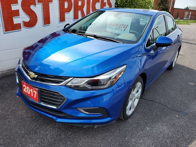 2017 CHEVROLET CRUZE Premier Auto WE ARE NOW OPEN!  PLEASE CALL TO BOOK APPOINTMENT! in Oshawa, Ontario