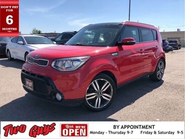 2016 KIA SOUL Leather Navigation Panorama Roof in St Catharines, Ontario