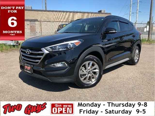 2017 HYUNDAI TUCSON AWD Leather Panorama Roof Back Up Camera in St Catharines, Ontario