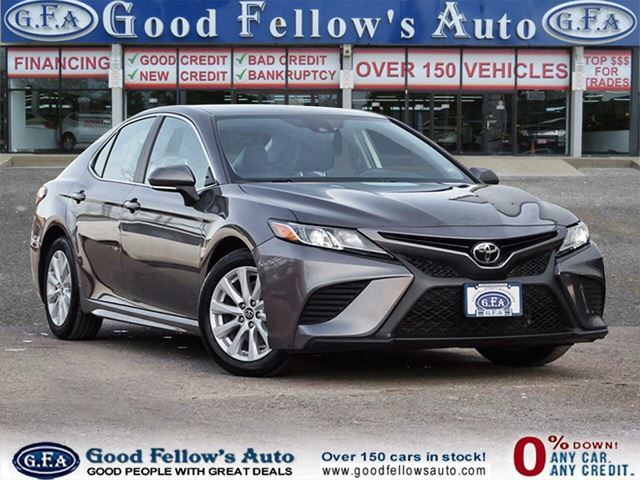 2019 TOYOTA CAMRY SE MODEL, RAERVIEW CAMERA, HEATED & POWER SEATS in North York, Ontario