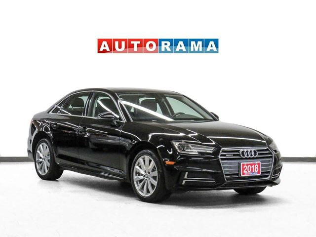 2018 AUDI A4 Quattro Komfort Package Leather Sunroof in North York, Ontario