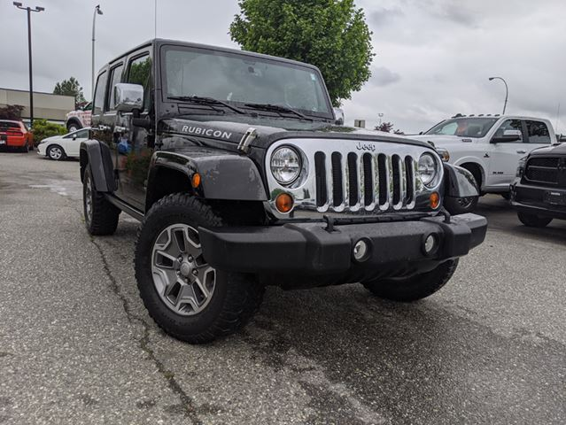 2013 JEEP WRANGLER Unlimited Rubicon  Leather / After-Market Stereo / Weekend Warrior in Surrey, British Columbia