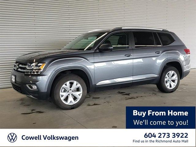 2018 VOLKSWAGEN ATLAS Highline 3.6L 8sp at w/Tip 4MOTION in Richmond, British Columbia