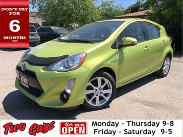 2016 TOYOTA PRIUS 5dr HB Nice Local Trade In! in St Catharines, Ontario