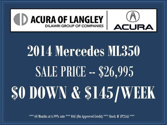 2014 Mercedes-Benz M-Class ML 350 BlueTEC in