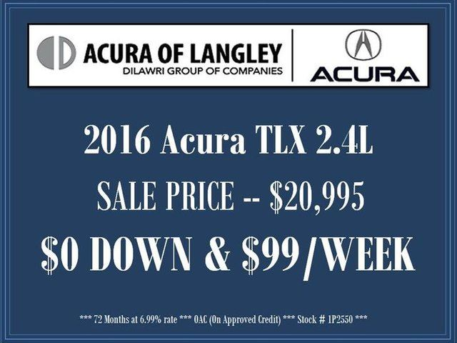 2016 Acura TLX Tech in