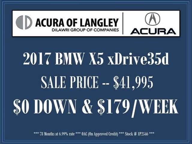 2017 BMW X5 xDrive35d in