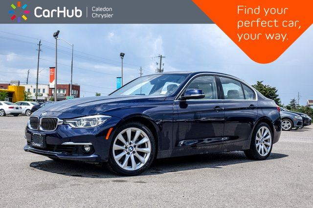 2016 BMW 3 Series 328i xDrive Navigation Sunroof Leather Bluetooth Heated Front Seats 18Alloy Rims in