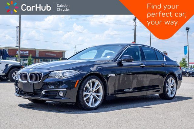 2015 BMW 5 Series 535d xDrive Diesel Navigation Sunroof Backup camera Bluetooth Leather 19Alloy Rims in