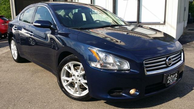 2012 Nissan Maxima SV - LEATHER! SUNROOF! ACCIDENT FREE! ONLY 69KM! in