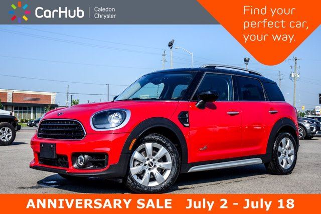 2020 MINI Cooper Countryman Cooper AWD Only 55 KM Dual Pane Sunroof Backup Camera Bluetooth Heated Front Seats 17Rims in