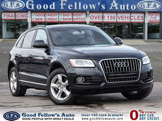 2016 Audi Q5 AT MODEL, 2.0L 4CYL, AWD, POWER REAR HATCH in