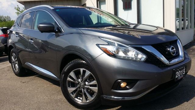 2015 Nissan Murano SL AWD - LEATHER! NAV! 360 CAM! BSM! PANO ROOF! in