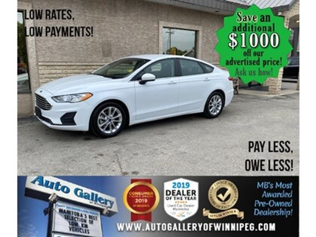 2019 Ford Fusion SE* B.cam/B.tooth/Htd seats in Winnipeg, Manitoba